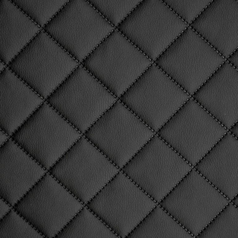 Kunstleder Leder PVC PKW Polsterstoff gesteppt 5x5cm Raute 02