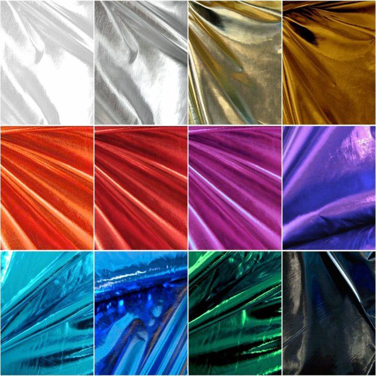 Stoffe-Lackleder-Imitat-Lurex-Stretch-Meterware-Latex-Bekleidungsstoff-Dekostoff 01