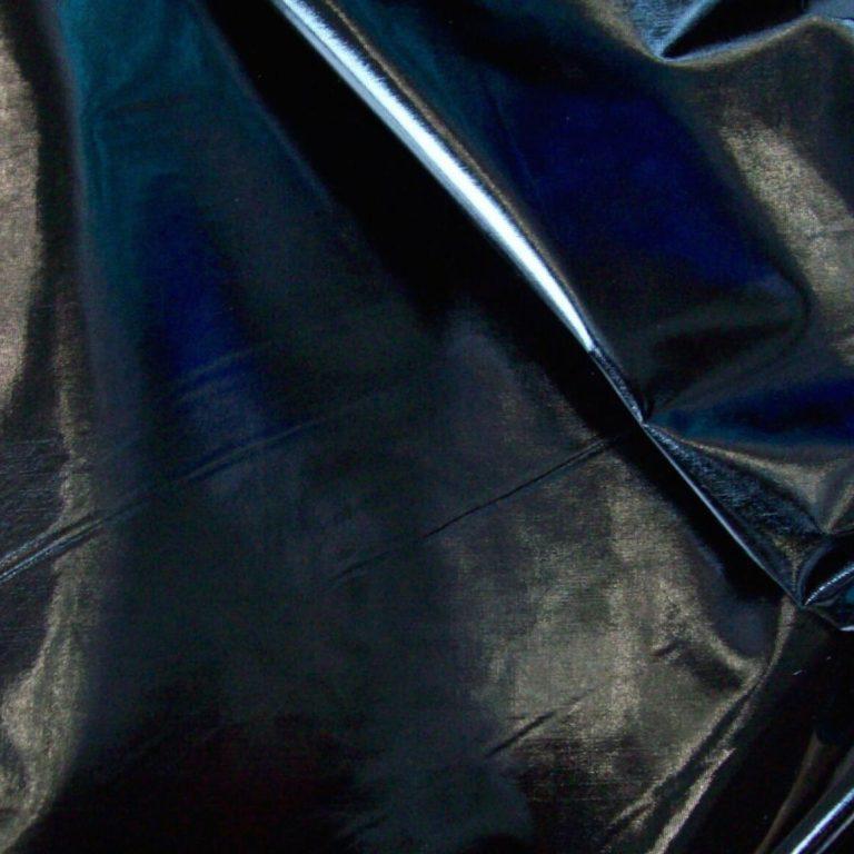 Stoffe-Lackleder-Imitat-Lurex-Stretch-Meterware-Latex-Bekleidungsstoff-Dekostoff 02