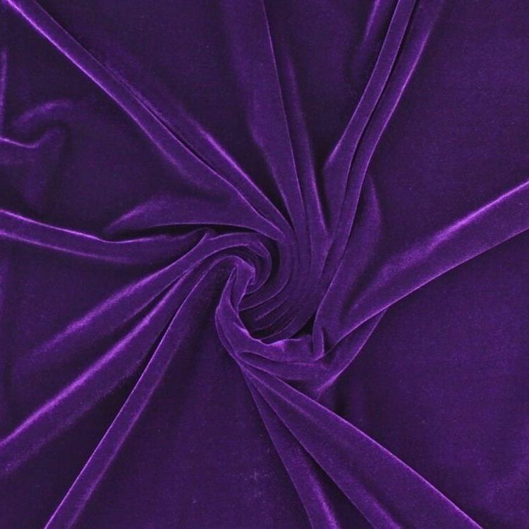 Stretch-Samt-Stoffe-Glanzend-Bi-Elastisch-Bekleidung-Kostum-Dekostoff 03
